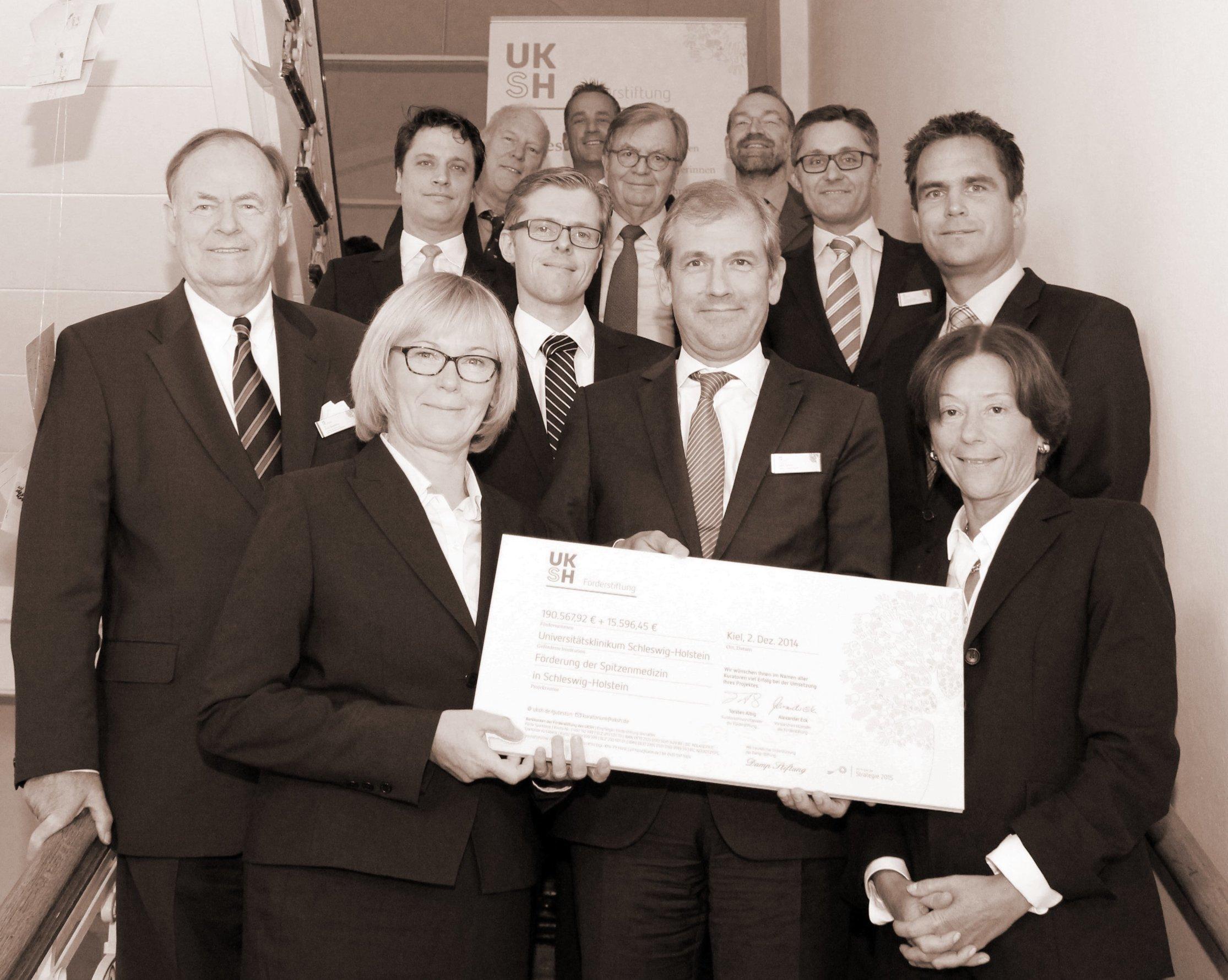 Im ersten vollen Geschäftsjahr unterstützt die Förderstiftung des UKSH fünf Projekte mit mehr als 200.000 Euro in Kiel und Lübeck.