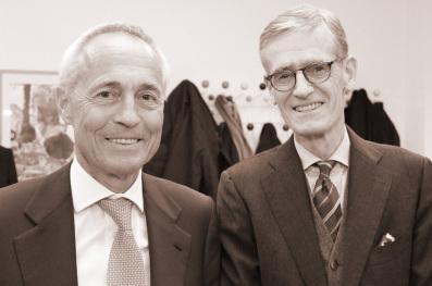 UKSH Stiftung: Dr. Bernhard Termühlen im Gespräch mit Prof. Dr. Klaus-Peter Jünemann