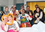 Gutes tun - Goethe Gemeinschaftsschule spendet für die Klinik Clowns